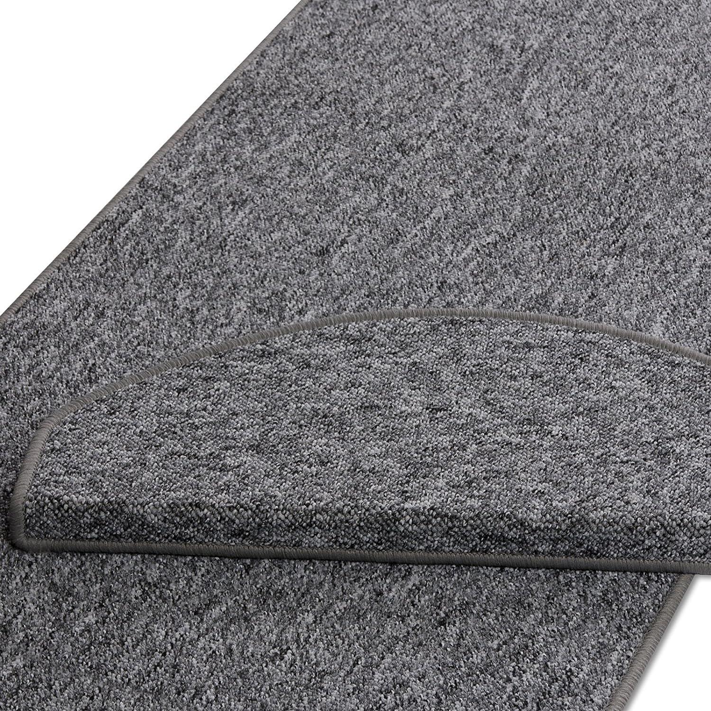 Casa pura® Teppich Teppich Teppich Läufer in zahlreichen Größen   grau   GUT-Siegel   Qualitätsprodukt aus Deutschland   kombinierbar mit Stufenmatten (Größe  400x200 cm) B01ENKC3YS Teppiche a038ba