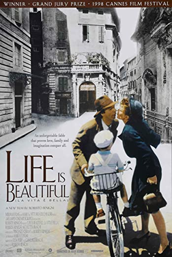 "JIONK® Life Is Beautiful Movie Poster 24"" x 36"""