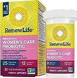 Renew Life #1 Women's Probiotics 25 Billion CFU Guaranteed, 10 Strains, Shelf Stable, Gluten Dairy & Soy Free, 30…