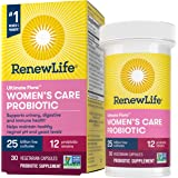 Renew Life #1 Women's Probiotics 25 Billion CFU Guaranteed, 12 Strains, Shelf Stable, Gluten Dairy & Soy Free, 30 Capsules, F