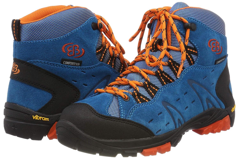 Bruetting (Petrol/Schwarz/Orange Unisex-Erwachsene Mount Bona High Kids Trekking-& Wanderstiefel Blau (Petrol/Schwarz/Orange Bruetting Petrol/Schwarz/Orange) 80224c