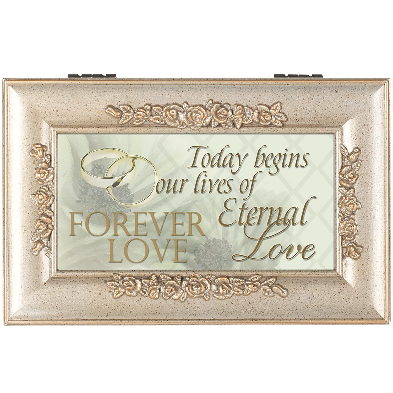Wedding Forever Love Rose Music Box Cottage Garden PR101C