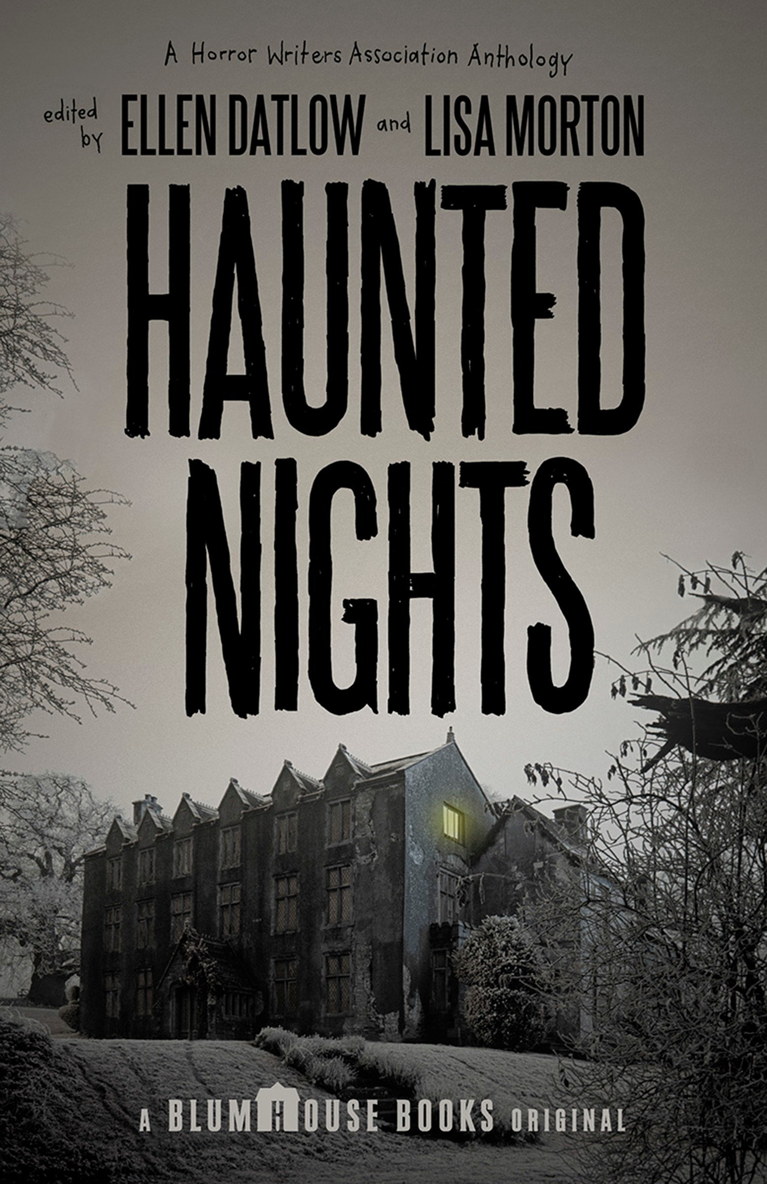 Image result for book cover haunted nights ellen datlow
