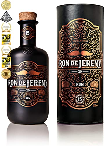 Ron de Jeremy XO 15 Years Old Solera Rum in Gift Box - 700 ml