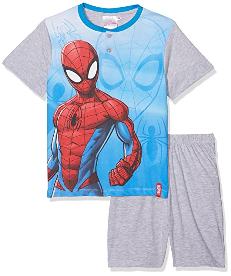 Disney Spiderman, Pelele para Dormir para Niños: Amazon.es: Ropa y accesorios