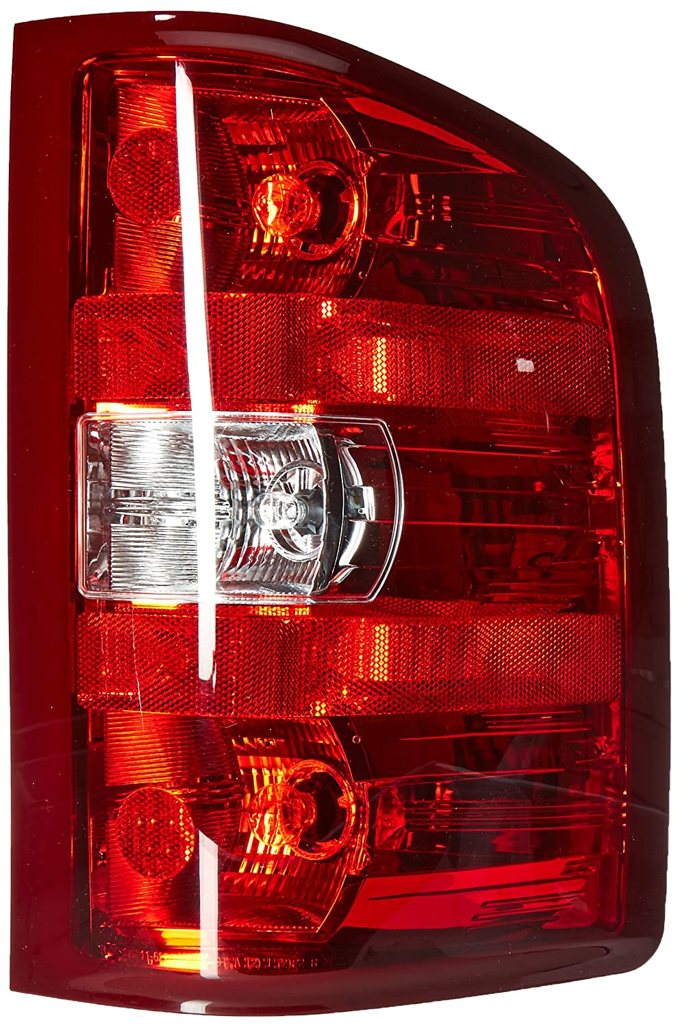 OE Replacement Tail Light Assembly CHEVROLET PICKUP CHEVY SILVERADO 2007-2014 Multiple Manufacturers GM2801207N Partslink GM2801207