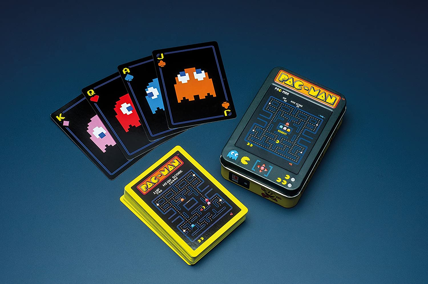 Amazon.com: Pac Man juego de cartas: Toys & Games