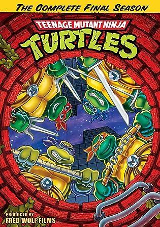 Teenage Mutant Ninja Turtles Season 10: Complete Reino Unido ...