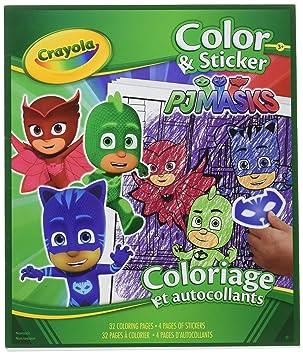 Crayola - Libro de pegatinas y máscaras de color