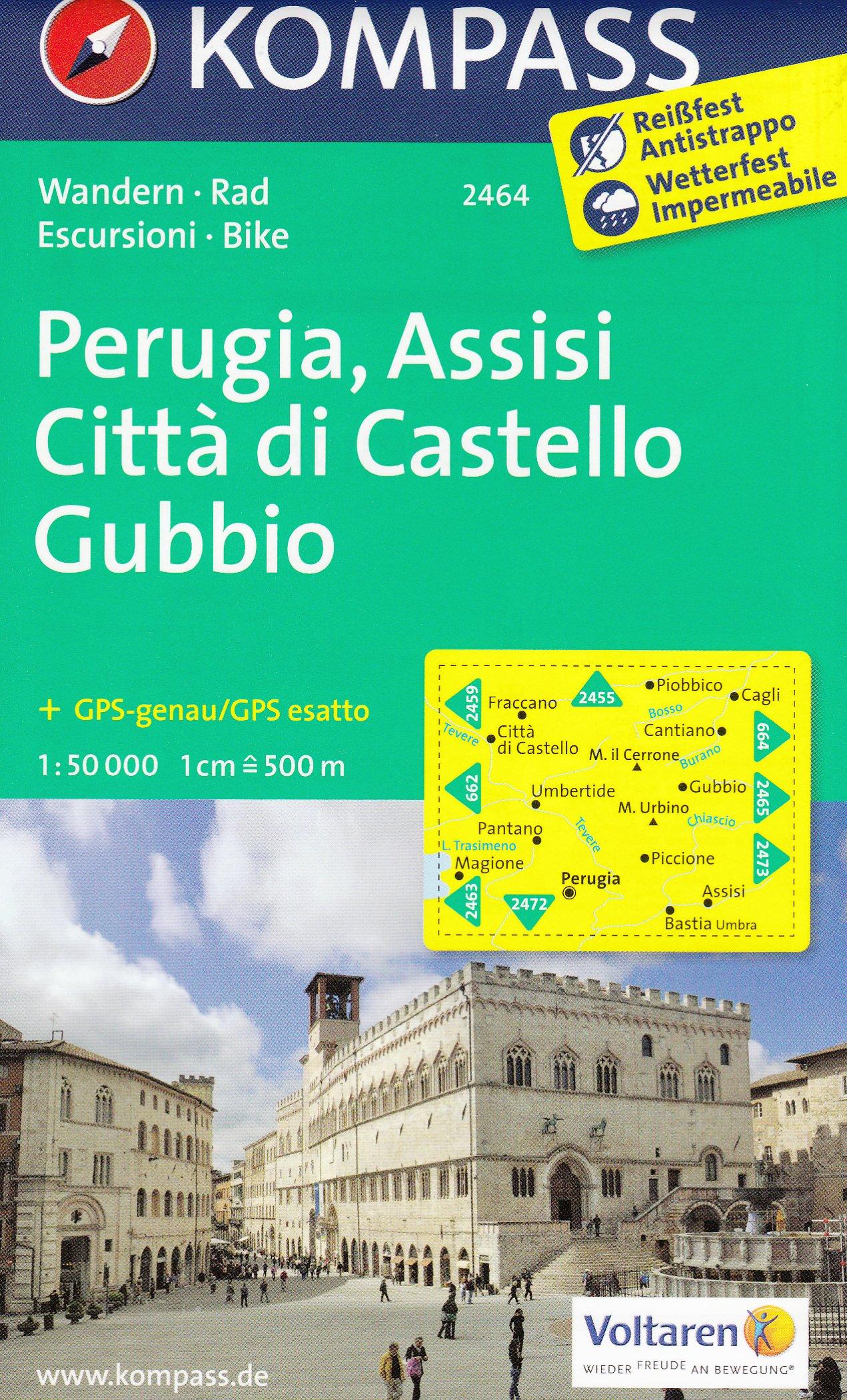 Perugia Assisi Citta Di Castello Gubbio Umbria Italy 1 50 000