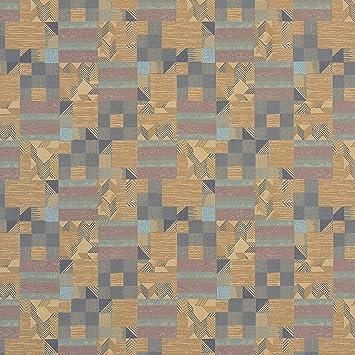 Amazon.com: Tela de tapicería Gunta Shuttle marrón morado ...