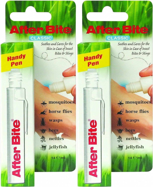 AfterBite Tratamiento de picadura de insectos - Paquete de 2 x 14 ml - Total: 28 ml
