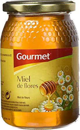 Gourmet - Miel de flores - 500 g - [Pack de 3]: Amazon.es: Alimentación y bebidas