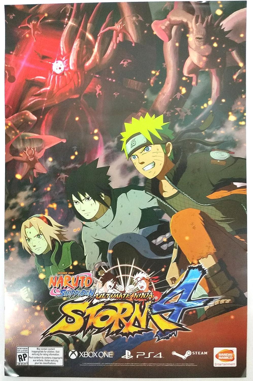 Naruto Shippuden Ultimate Ninja Storm 4 Poster 11 x 17 ...