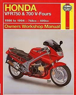 honda vfr750 and 700 v-fours owners workshop manual (haynes owners workshop  manuals)