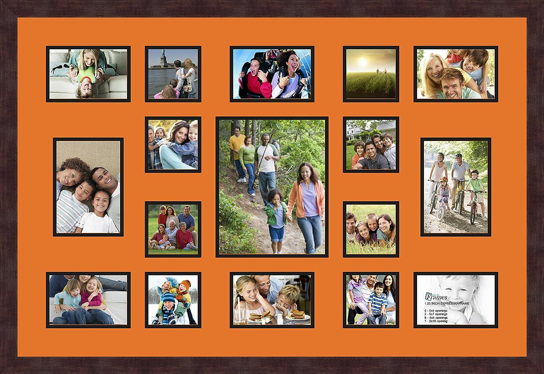 ArtToFrames 11x16 Picture Frame 1.25 Espresso
