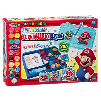 Epoch Aquabeads Super Mario Playset: Toys & Games