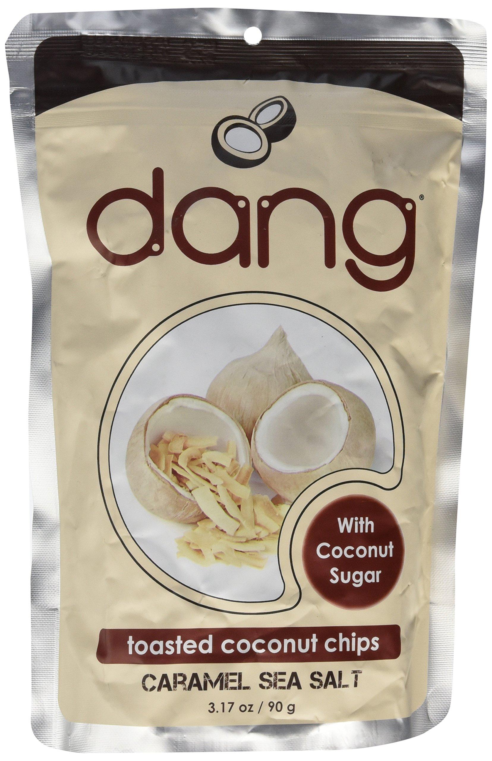 Dang, Chip Coconut Toasted Caramel Sea Salt, 3.17 Ounce