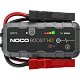 NOCO Boost HD GB70 2000 Amp 12-Volt UltraSafe Portable Lithium Car Battery Jump Starter Pack For Up To 8-Liter Gasoline…