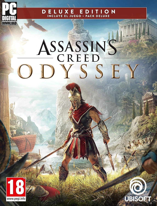 Assassins Creed Odyssey - Deluxe Edition   Código Uplay para PC: Amazon.es: Videojuegos