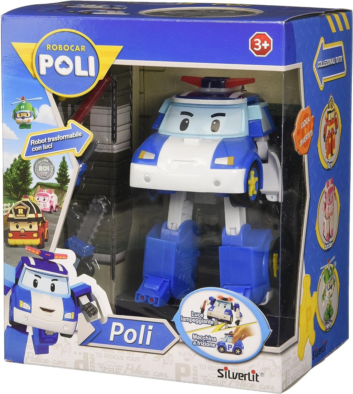 ROCCO Giocattoli 83156-ROBOCAR POLI Quartier Generale Playset