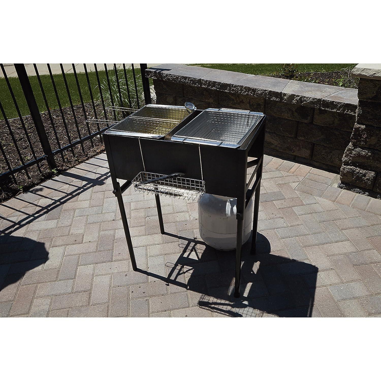kitchener triple basket deep fryer kitchen home