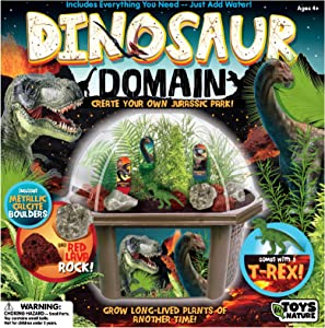 Grow Your Own Dinosaur Biosphere - Unique And Fascinating Prehistoric Pines, Ferns And Palms - Collection Of Prehistoric Plants Is Quick To Sprout And Guaranteed To Grow