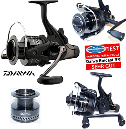 Amazon com : Daiwa Emcast BR 4500 A Free spool reel