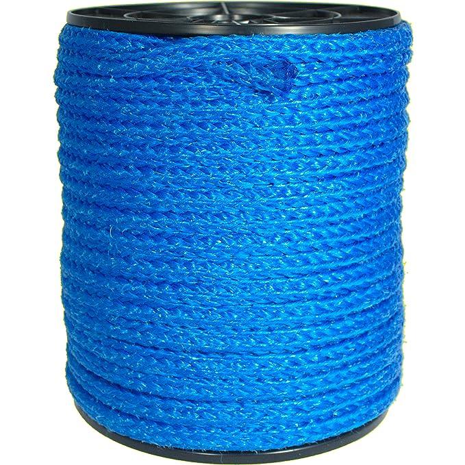 PP-SEIL 10m x 14mm Polypropylen schwimmfähig Tauwerk Tau Kunstoffseil Seil Blau
