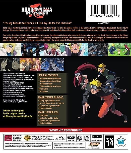 Naruto Shippuden Road To Ninja: The Movie 6 4 Blu-Ray ...