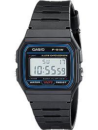24a7393aac143 Casio F91W-1 Classic Resin Strap Digital Sport Watch