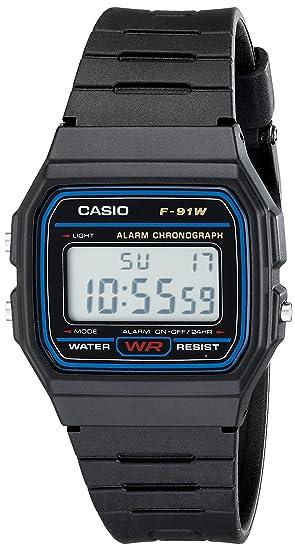 Casio f91 W Digital Reloj de Pulsera Deportivo
