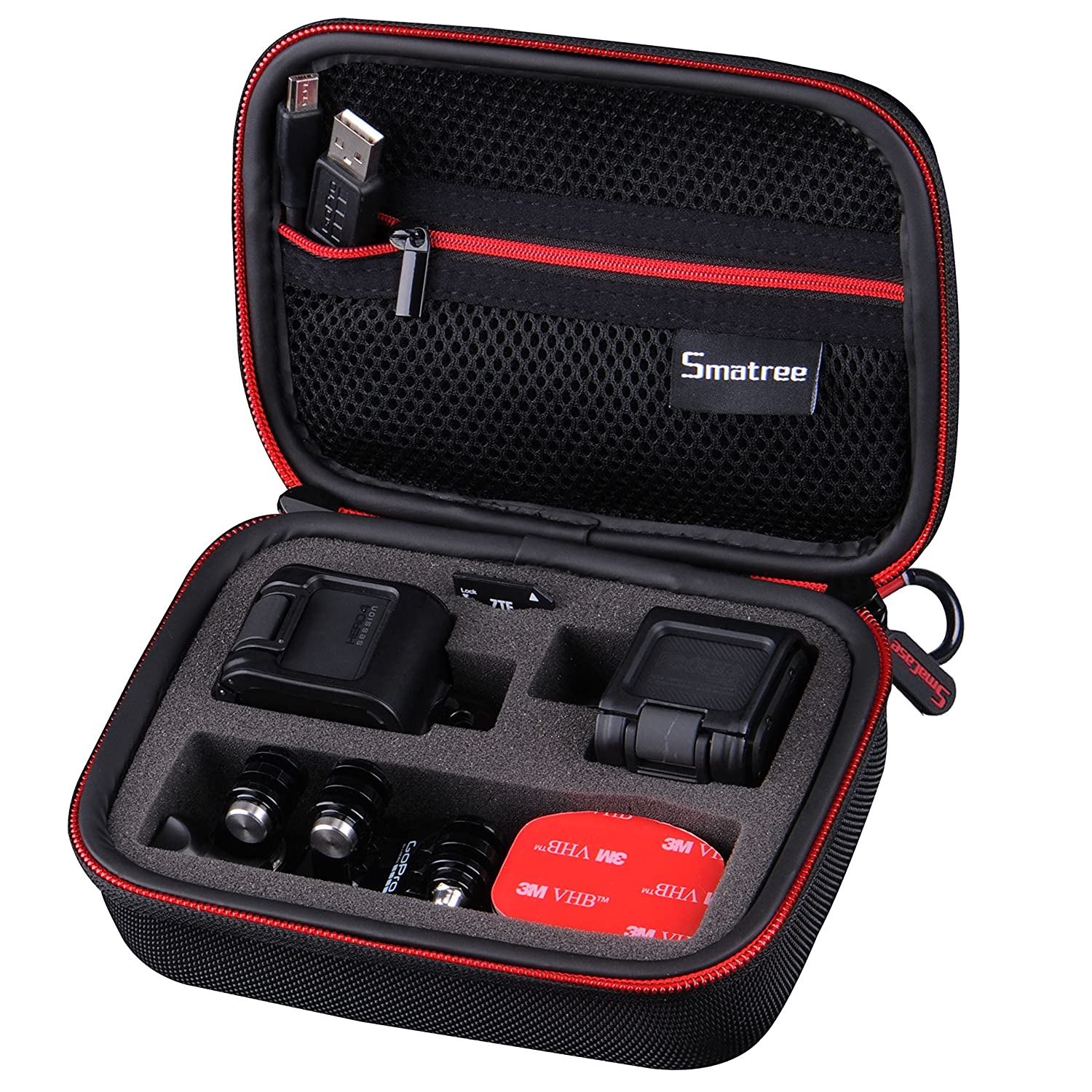 Smatree® SmaCase GS75 Carrying Case for GoPro HERO 5Session/Hero Session-(Camera and Accessories NOT included) FBA_Smatree-SC029