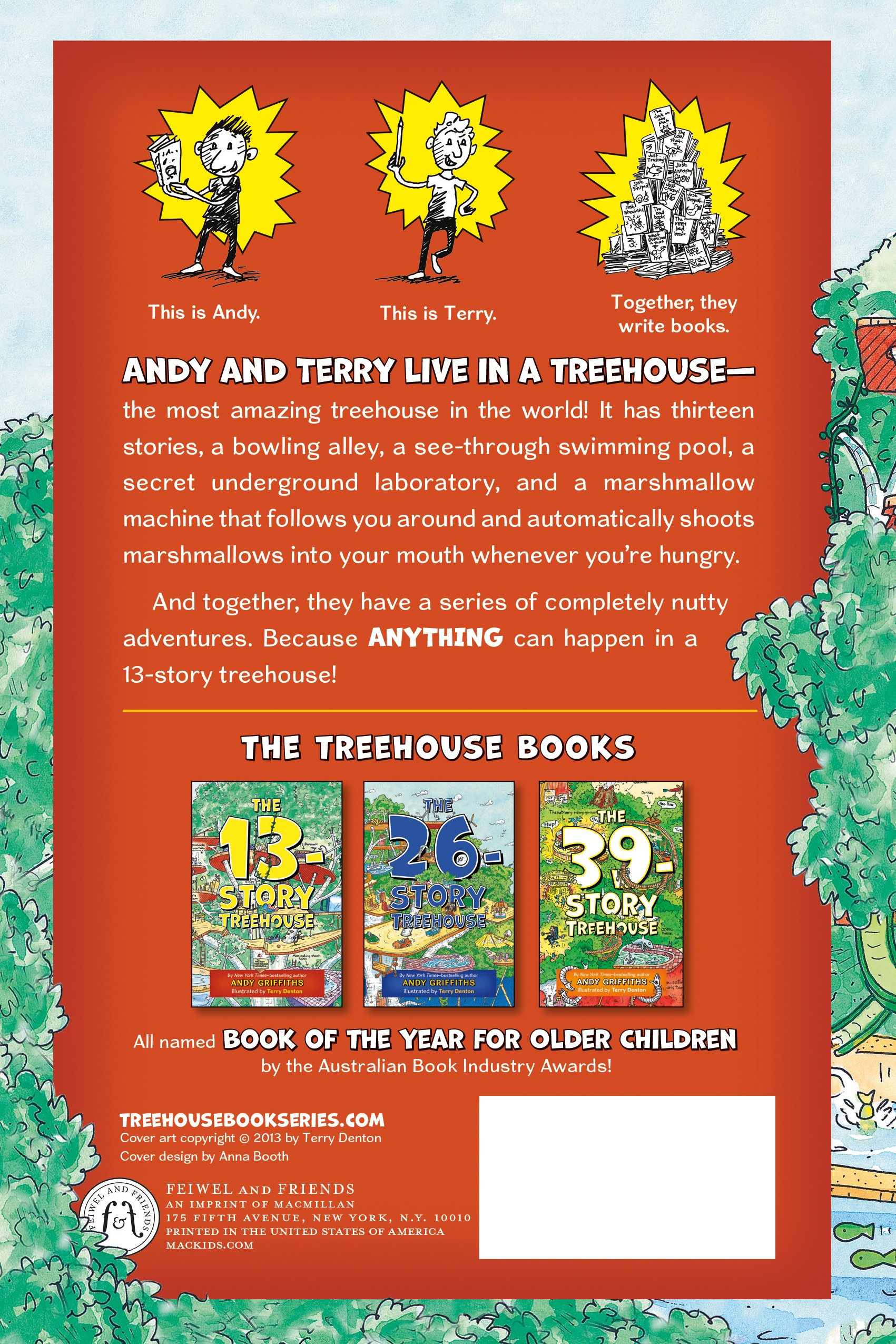The 13th Storey Treehouse Part - 33: The 13-Story Treehouse (The Treehouse Books): Andy Griffiths, Terry Denton:  9781250026903: Amazon.com: Books
