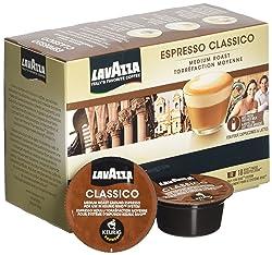 Lavazza Espresso Classico Keurig Rivo Pack