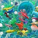 UWANTME Ocean Water Beads Ocean Explorers Tactile Sensory Kit