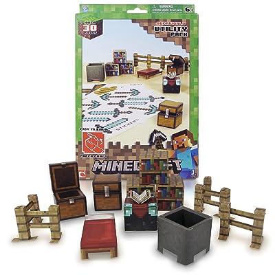 Minecraft 16702 - Figurines - Set Papercraft - 30 Modèles Utility Pack