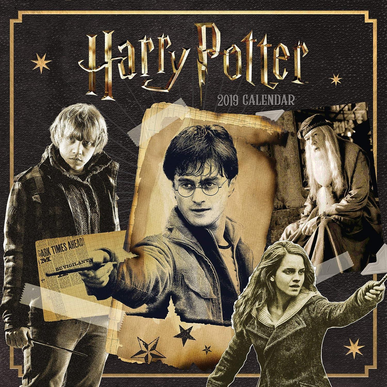 Harry Potter Official 2019 Calendar - Square Wall Calendar Format
