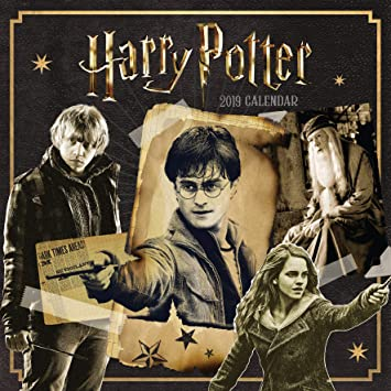 Harry Potter Official 2019 Calendar Square Wall Calendar Format