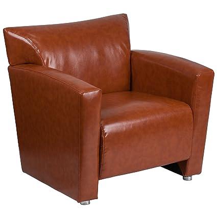 Amazon.com: Flash Furniture HERCULES Majesty Series Cognac Leather ...