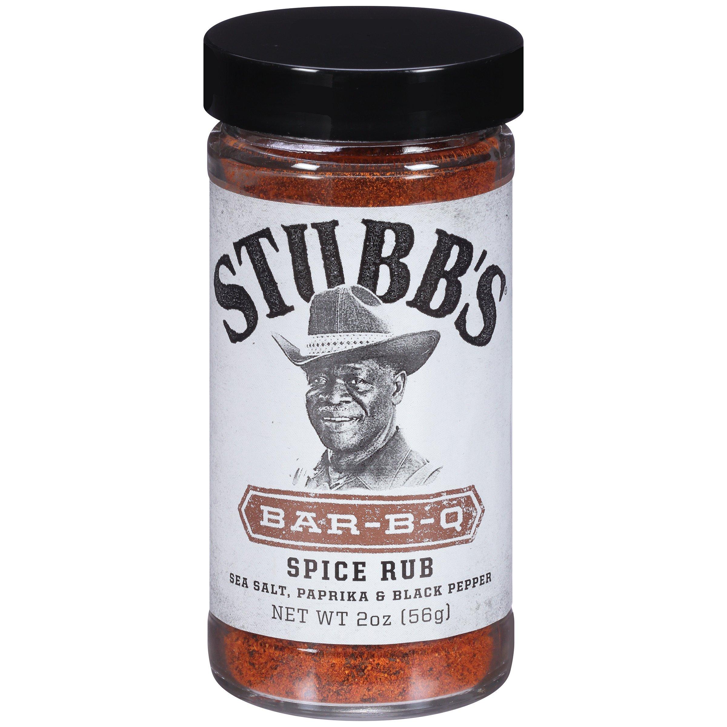 Stubb's Bar-B-Q Spice Rub, 2 ounce (Pack of 6)