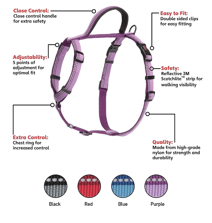 Halti Walking Harness Medium chest 22-30 Blue