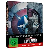 The First Avenger - Civil War (Steelbook) (+ 2D) [3D Blu-ray]