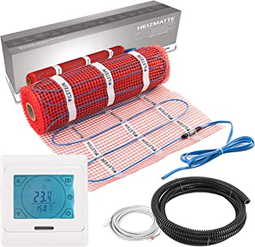 Elektrische Fussbodenheizung elektro TWIN Technologie 1-12m² mit 160W//m² VDE