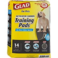 Glad for Pets Charcoal Puppy Pads | Black Training Pads That Absorb & Neutralize Urine Instantly