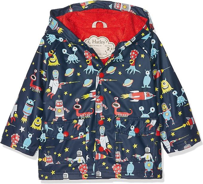 Hatley Boys Printed Rain Jacket Raincoat