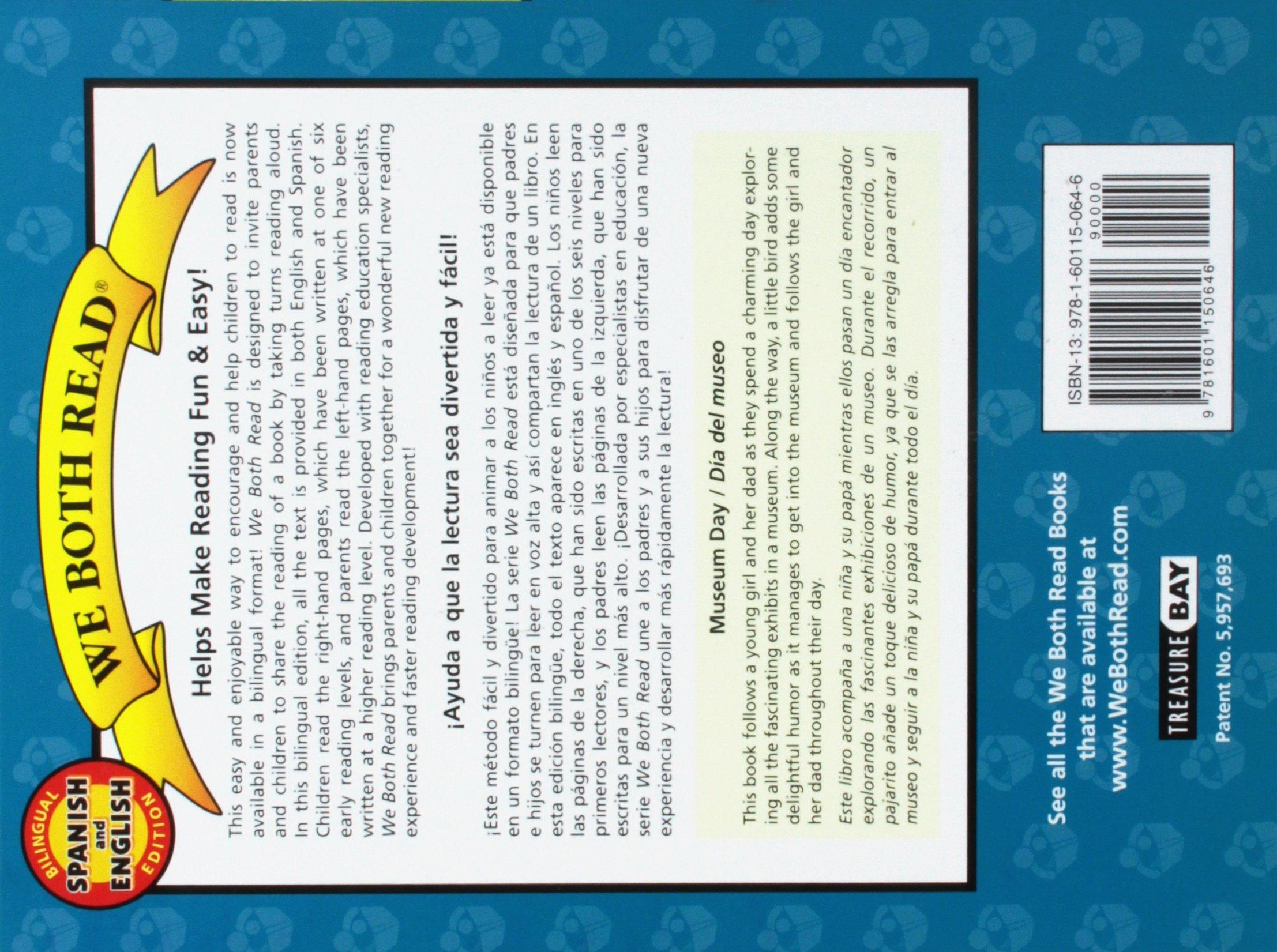 Amazon.com: Museum Day/Dia del Museo: Spanish/English Bilingual Edition (We Both Read - Level K) (English and Spanish Edition) (9781601150646): Sindy McKay, ...