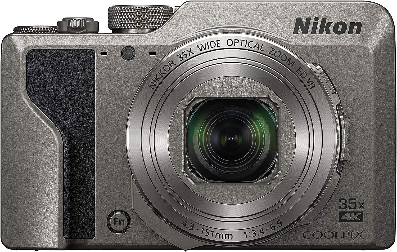 Nikon Coolpix A1000 Silber Kamera