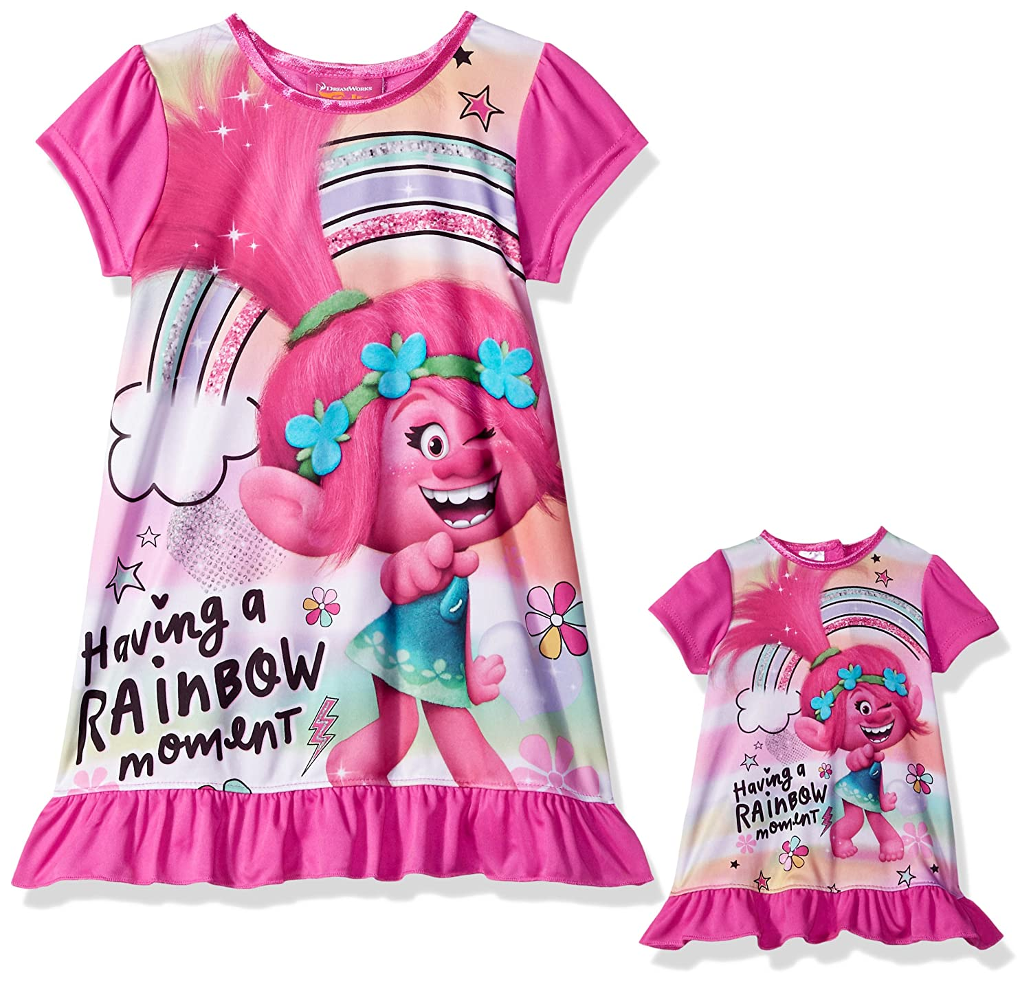 Trolls Girls Girls' Poppy Nightgown TPGDS
