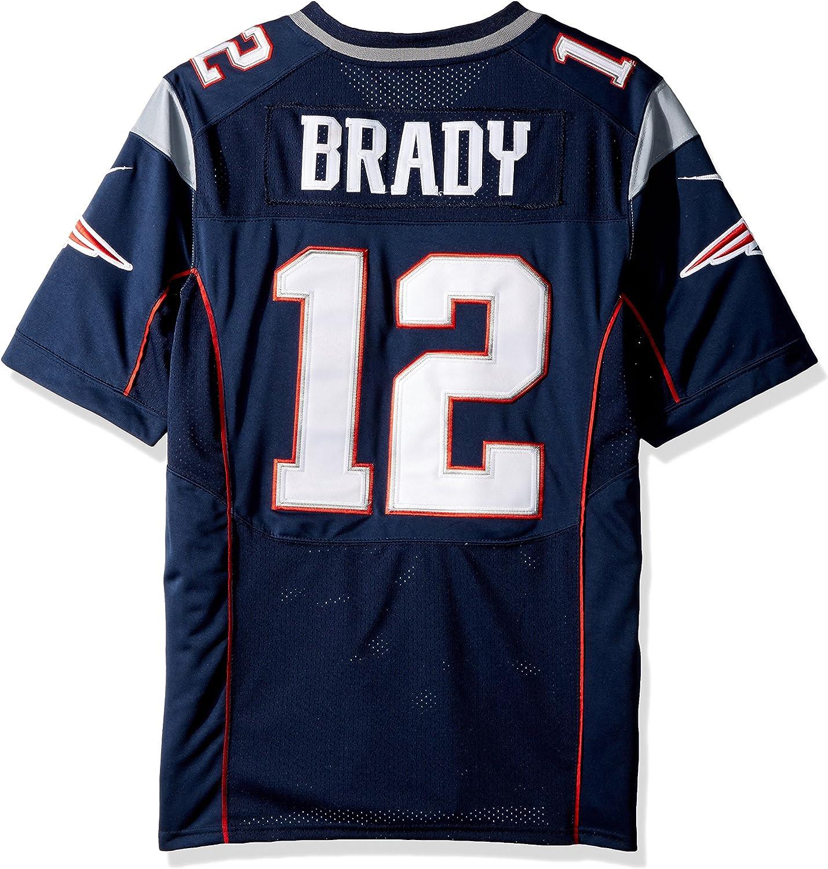 canal Cruel evidencia  Nike - Camiseta azul marino de Tom Brady de los NFL New England Patriots  original (no imitación). - 468960, XL, Marino: Amazon.es: Deportes y aire  libre